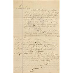 NV - Belmont,Nye County - Oct. 8, 1867 - Belmont Area Survey - Clint Maish Collection