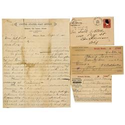 NV - Belmont,Nye County - 1895-1908 - Belmont Postal History Group - Clint Maish Collection
