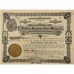 NV - Bullfrog,Nye County - June 8th, 1906 - Bullfrog Keystone Gold Mining Company