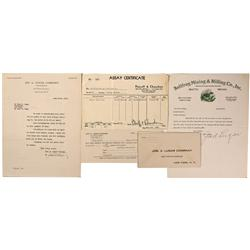 NV - Bullfrog,Nye County - 1933 - Bullfrog Mining and Milling Company, Inc. Documents - Clint Maish