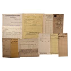 NV - Bullfrog,Nye County - 1927 - Bullfrog Railway Documents - Clint Maish Collection