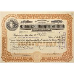 NV - Bullfrog,Nye County - 1910 - Mayflower Bullfrog Consolidated Mining Company Stock - Gil Schmidt