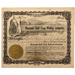 NV - Bullfrog,Nye County - 1905 - Montana Bull Frog Mining Company - Fenske Collection