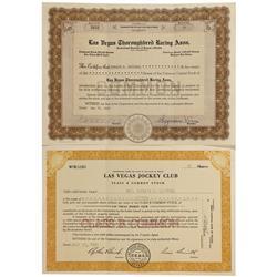 NV - Clark County,1950, 1953 - Las Vegas Stock Certificates - Gil Schmidtmann Collection