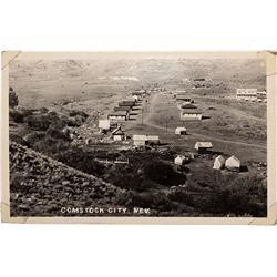 NV - Comstock City,Storey County - Pre-1907 Comstock City Post Card