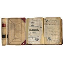 NV - Cortez,1894-1897 - Cortez Mine Ledger Book