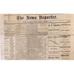 NV - Dayton,Lyon county - November 18, 1886 - Dayton Newspaper - Gil Schmidtmann Collection