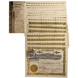 NV - Derby,1921 - The Star Mining and Milling Company Stock Certificates