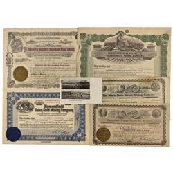 NV - Diamondfield,Esmeralda County - 1906-1912 - Diamondfield, Nevada Documents - Clint Maish Collec