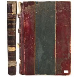 NV - Elko,1896-1899 - Depot Hotel Company Cash Book (Ledger)