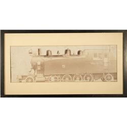 NV - Ely,White Pine County - 1908 - Northern Nevada Railway Engine Photo