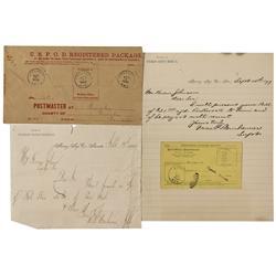 NV - Eureka,1881-1904 - Eureka Documents - Clint Maish Collection