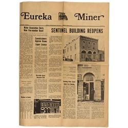 NV - Eureka,June 11, 1971 - Eureka Miner Newspaper - Gil Schmidtmann Collection