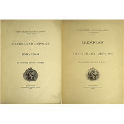NV - Eureka,1884 - Eureka Mining District, 2 Volumes