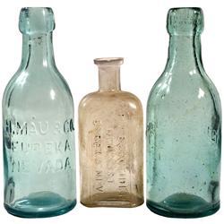 NV - Eureka County,c1880s - Eureka Bottle Group