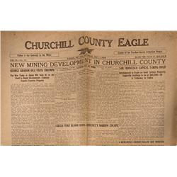 NV - Fallon,Churchill County - May 1, 1915 - Fallon Newspaper - Gil Schmidtmann Collection