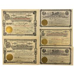 NV - Goldfield,Esmeralda County - Goldfield Stock Certificates and other Ephemera - Clint Maish Coll