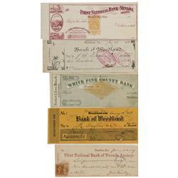 NV - Hamilton,White Pine County - c1870 - Nevada Bank Checks - Gil Schmidtmann Collection