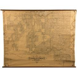 NV - Humboldt County,1939 - Humboldt County Map
