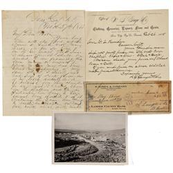 NV - Ione,Nye County - 1864-1938 - Ione Ephemera - Clint Maish Collection