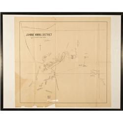 NV - Johnnie,Nye County - January 6, 906 - Johnnie Mining District Map - Clint Maish Collection