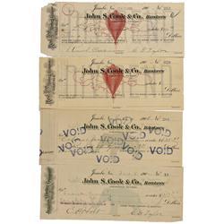 NV - Jumbo,Humbolt County - 1906 - John S. & Co. Bankers Checks - Gil Schmidtmann Collection
