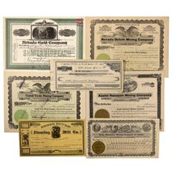 NV - Lander County,c1860s-1915 - Austin Stock Certificate Collection