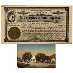 NV - Lida,Esmeralda County - 1906 - Lida Documents - Clint Maish Collection
