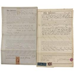 NV - Lyon County,1863; 1866 - Lyon County Mining Deeds - Clint Maish Collection