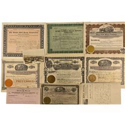 NV - Mina,Mineral County - 1906-1912 - Mina Document Group - Clint Maish Collection