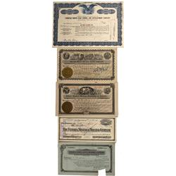 NV - Nye County,c1910-1960 - Tonopah Common Stock Certificates - Fenske Collection