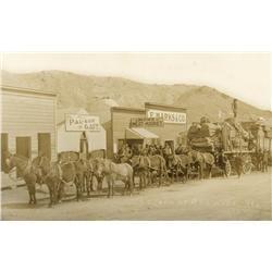 NV - Rawhide,Mineral County - 1907 - Postcard of Rawhide