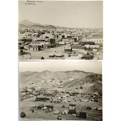 NV - Rawhide,Mineral County - 1908 - Rawhide Rebuilding after Fire Vista Photographs