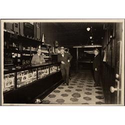 NV - Reno,c1920 - Brunswick Pool Hall Cigar Store Photograph