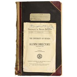 NV - Reno,Washoe County - 1895, 1938 - Register of Nevada Dental Surgeons, and Nevada Alumni Directo