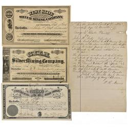 NV - Reville,Nye County - 1875-1882 - Reville, Nevada Ephemera - Clint Maish Collection