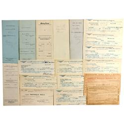 NV - Silver City,Lyon County - Donovan Reduction Works Documents