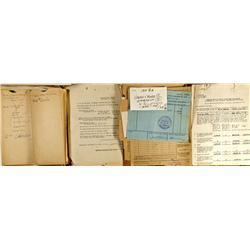 NV - Silver City,Lyon County - Donovan Reduction Works Ephemera - Gil Schmidtmann Collection