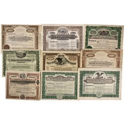 NV - Silver Peak,Esmeralda County - Silver Peak Mining District Stock Certificate Group