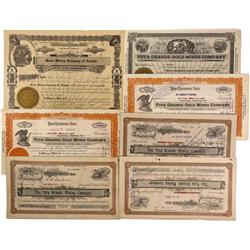 NV - Sweetwater,Sweetwater Stock Certificates Group