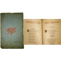 NV - Tonopah,Nye County - Some Fugitive Verse - Gil Schmidtmann Collection