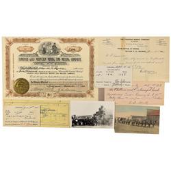 NV - Tonopah,Nye County - 1901-1902 - Tonopah Ephemera - Clint Maish Collection