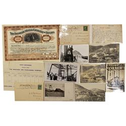 NV - Tonopah,Nye County - Tonopah Mining Company Group - Clint Maish Collection