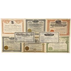 NV - Tonopah,Nye County - 1905-1928 - Tonopah Stock Certificate Group - Clint Maish Collection