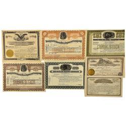 NV - Tonopah,Nye County - 1906-1930 1906-1930 - Tonopah Stock Certificates and Ephemera - Clint Mais