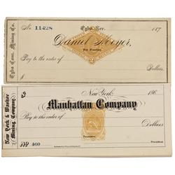 NV - Tybo,Nye County - 1870; 1880 - Revenue Checks - Clint Maish Collection
