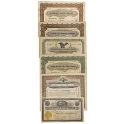 NV - Unionville,Pershing County - 1902-1922 - Unionville Stock Certificates - Clint Maish Collection