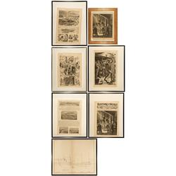 NV - Virginia City,Storey County - 1875, 1877, 1878 - Comstock Lot - Carson City Collection