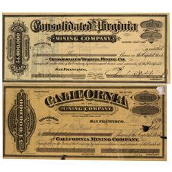 NV - Virginia City,Storey County - 1879 - Comstock Stocks - Gil Schmidtmann Collection