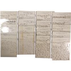NV - Virginia City,Storey County - 1870-1871 - Fair, James G. Correspondence